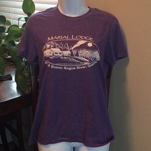 Purple Marial Lodge, Rogue River, OR T-shirt, SP